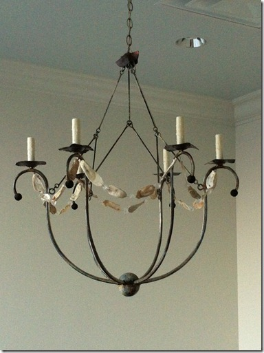 heather scott home and design, light fixture in conference room
