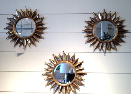What s new wednesday decorative mirrors heather scott for Different sized mirrors
