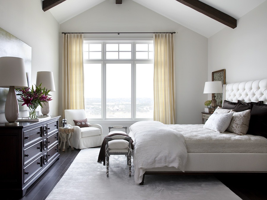 Southern living showcase house interior tour heather for Southern bedroom designs