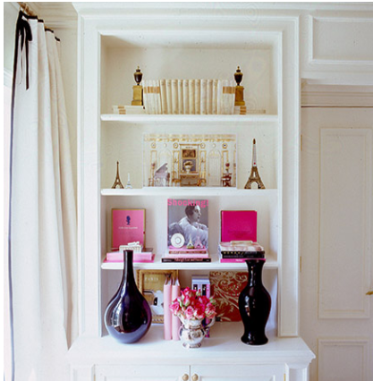 tips on decorating shelves 3
