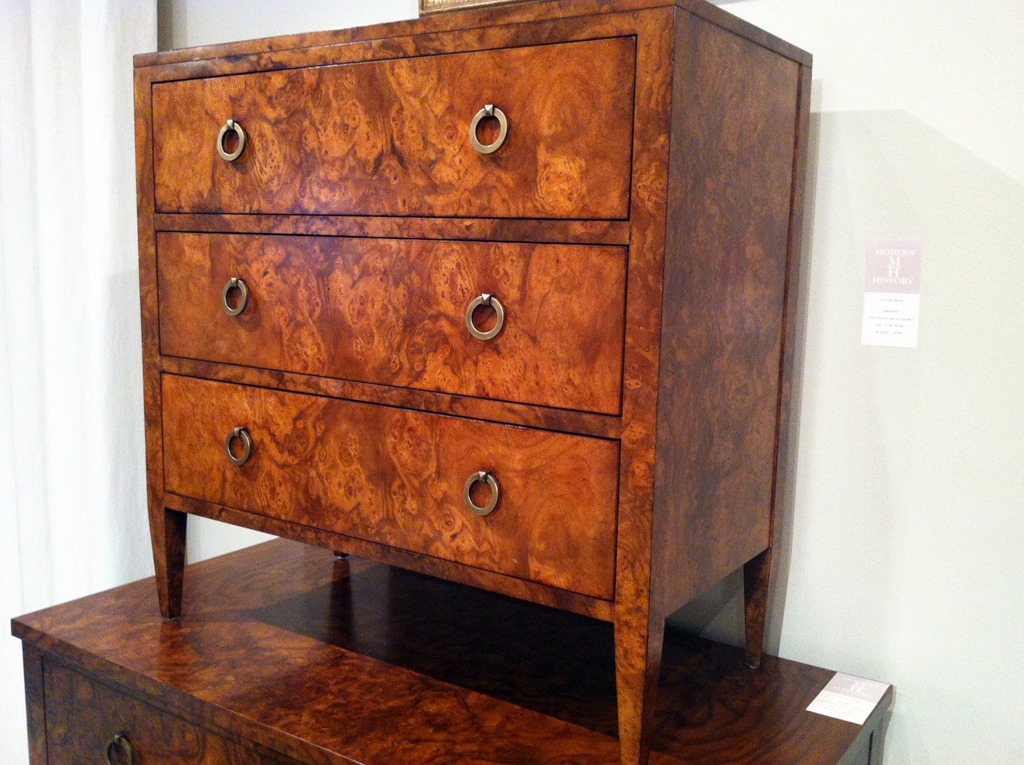 burl wood chest. 4 Key Trends from High Point Market   Heather Scott Home   Design