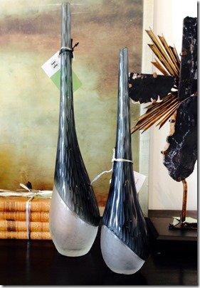 chiseled vases