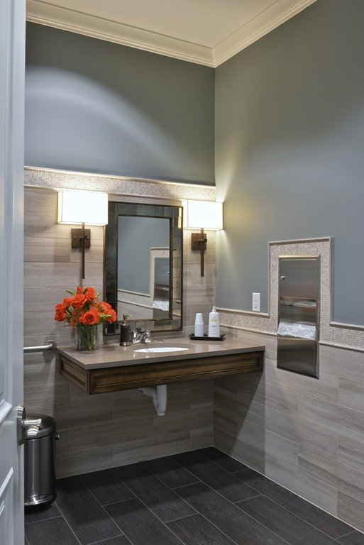 Dental Office Guest Bath Interior Design
