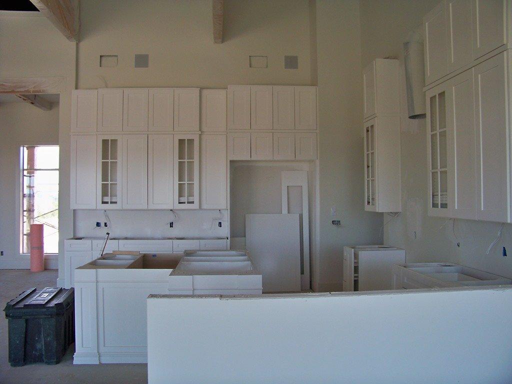 Kitchen Side View : Parade home update cabinets millwork heather scott