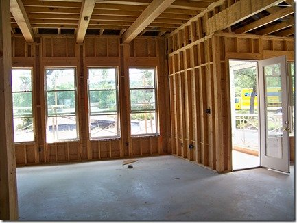 family and breakfast room before