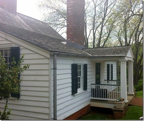 James Monroe's original home
