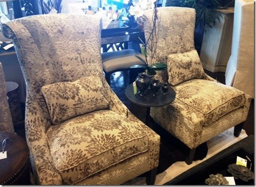 raised velvet accent chairs