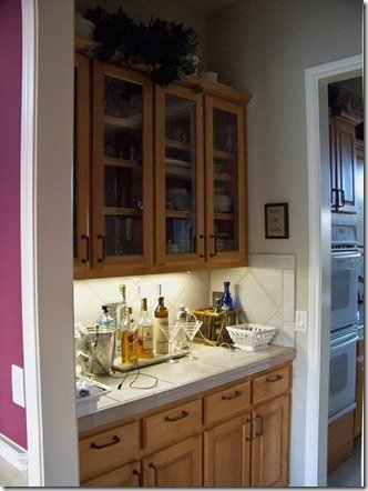 wet bar before