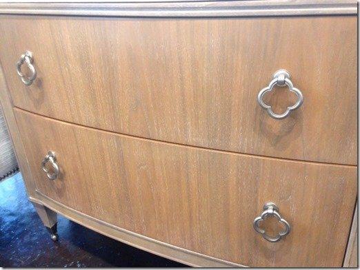 walnut drawer fronts dresser