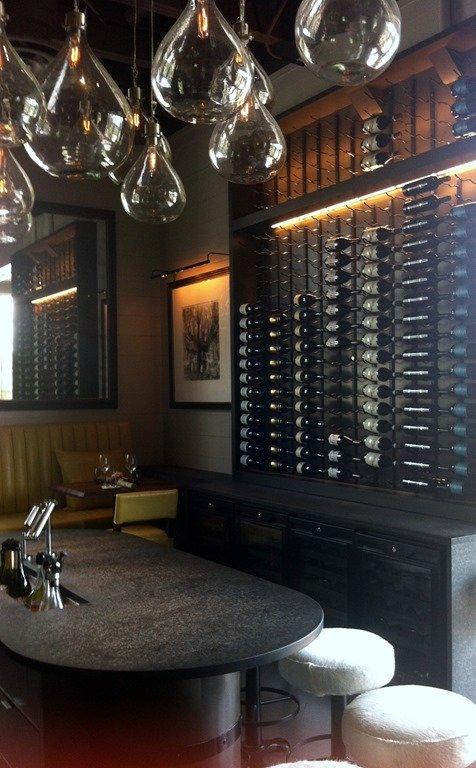LaV Wine Bar Seating