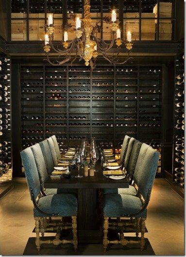 lav private wine room