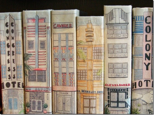 decorative art deco hotel books