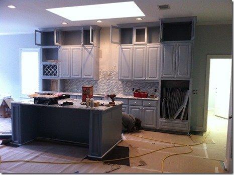 kitchen during