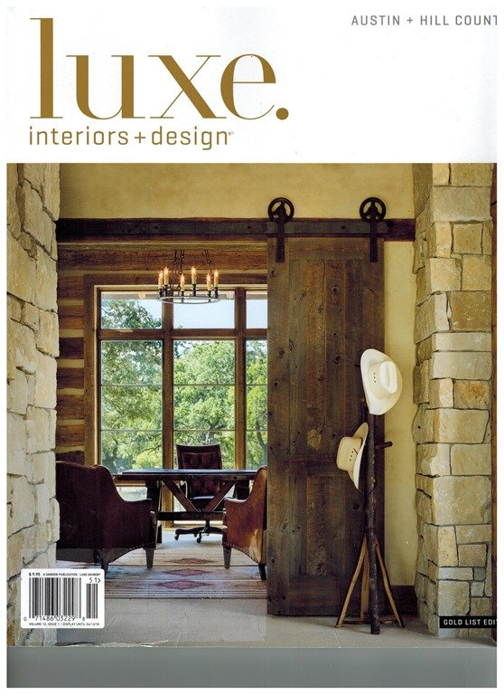 Talking art with luxe magazine heather scott home design for Interior design and decoration 6th edition