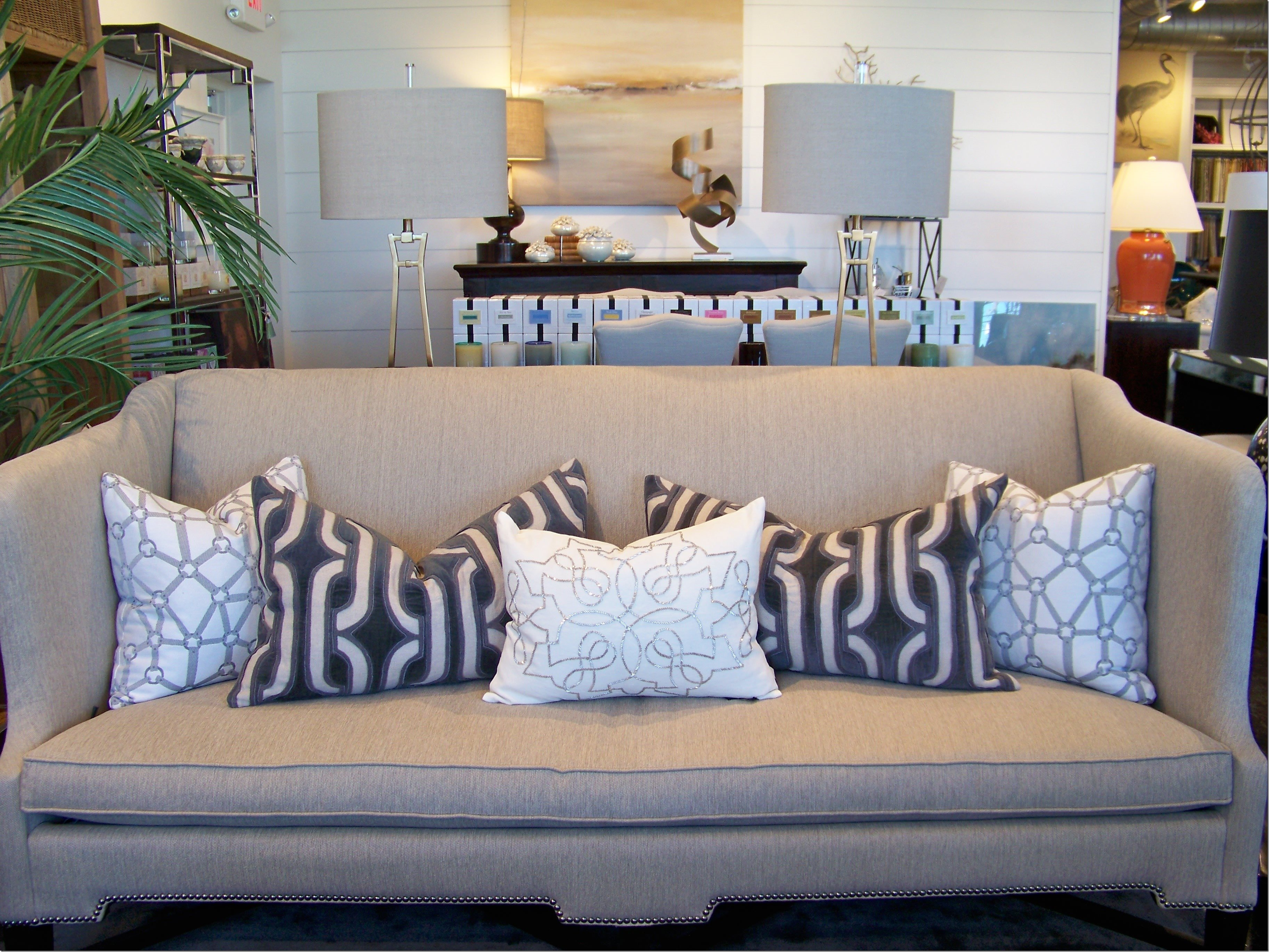 Throw Pillows For Charcoal Grey Sofa