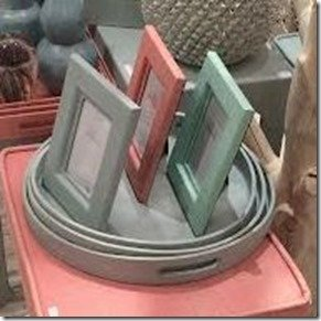 shagreen frames and trays
