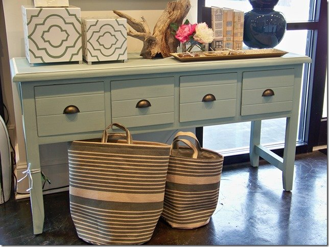 mint 4 drawer console