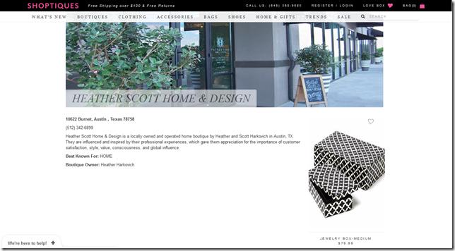 Shoptiques Online Shop