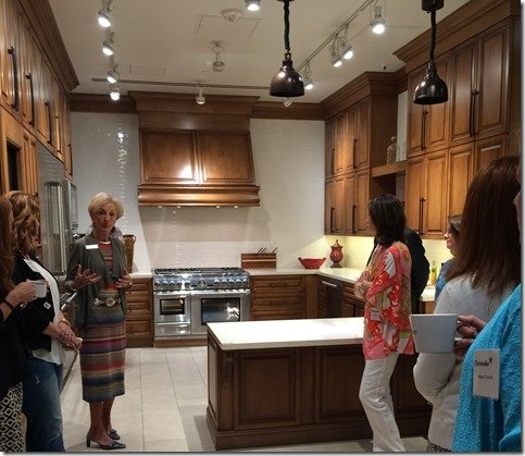 ideal kitchen, range