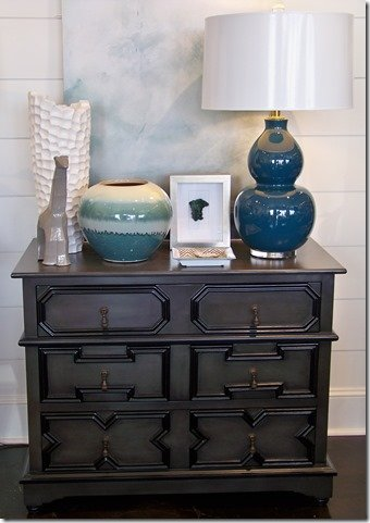 Pale Finish dresser
