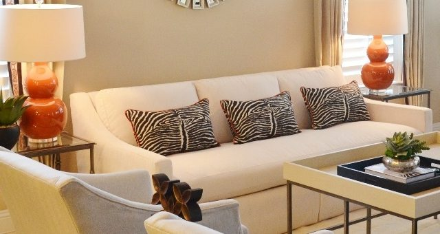 animal print on sofa pillows