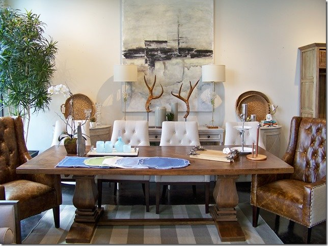 Whats New Wednesday Dining Table Leather Chairs