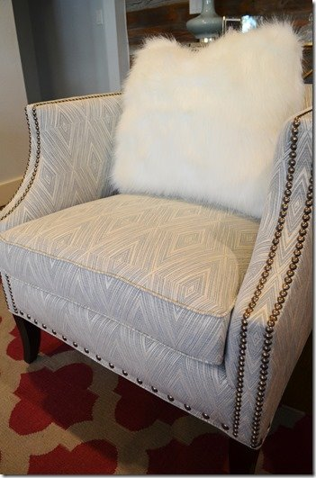 chair fabric and pillow
