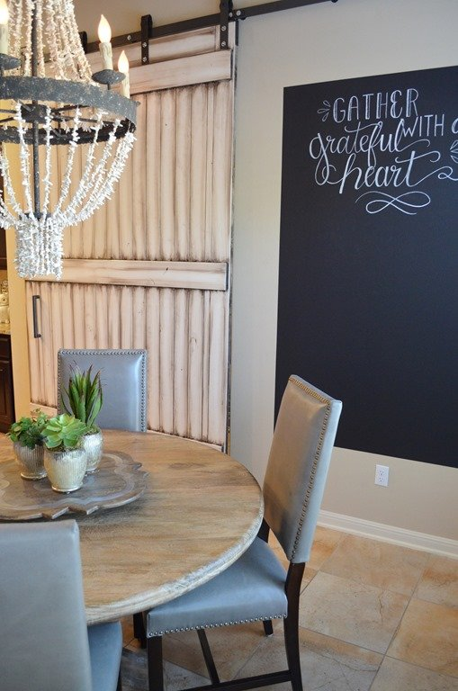 Grey Leather Dining Room Chairs