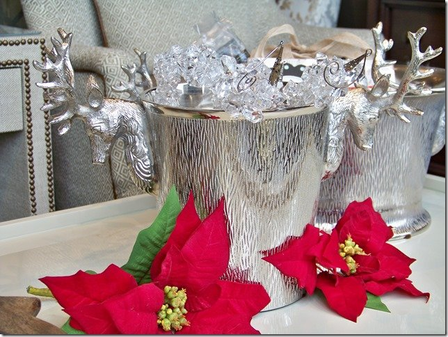 reindeer bevarage tub