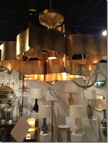 gold light fixtures