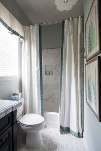 guest bath shower after