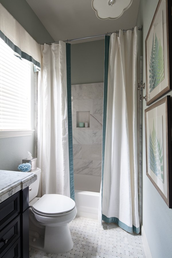 Before After Guest Bath Heather Scott Home Design