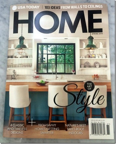 usa today home magazine cover