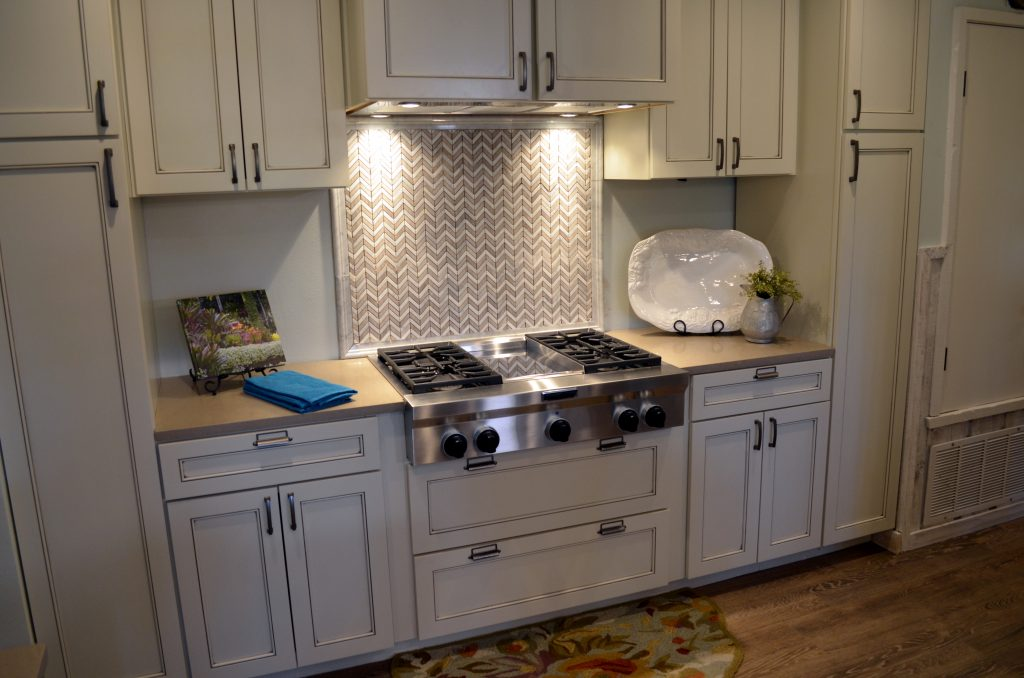 HGTv House hunters renovations austin cooktop wall