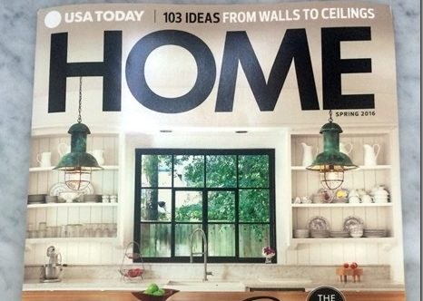 Home Magazines Usa usa today: home magazine - heather scott home & design