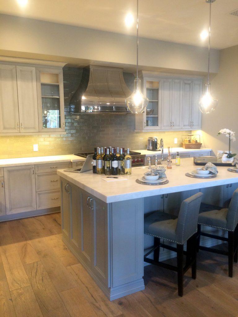 model condo kitchen