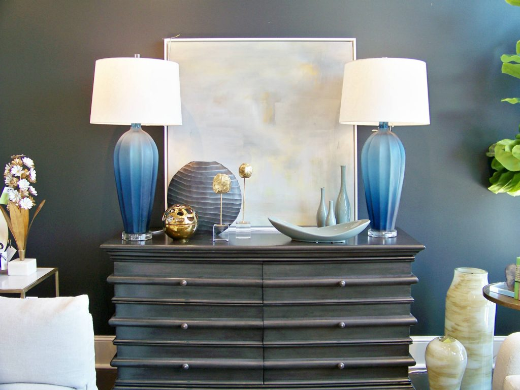 The Dark Charcoal Finished Chest Is Made Of Solid Mahogany Wood It Features Six Spacious Drawers And Oil Rubbed Bronze Hardware On Each Drawer Front