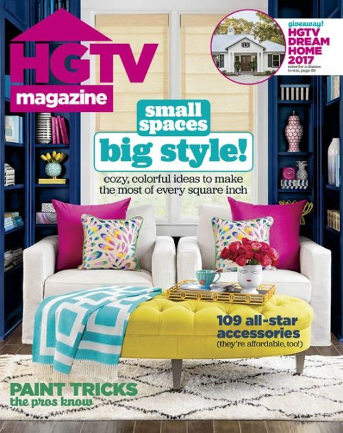 HGTV Magazine: Wow! What Color Is That?