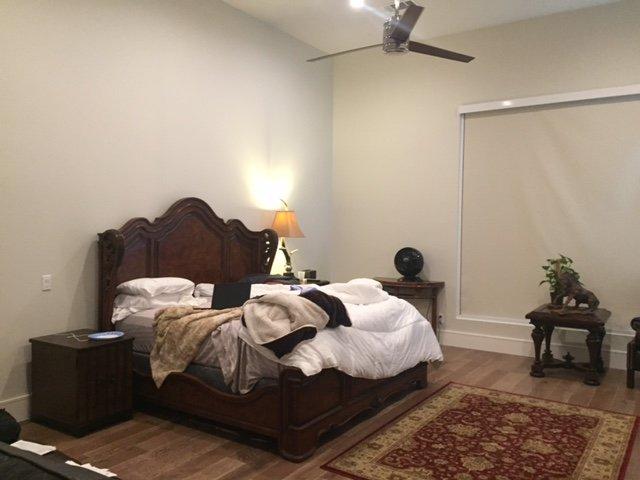 Masculine Master Bedroom: Before & After: A Masculine Master Bedroom