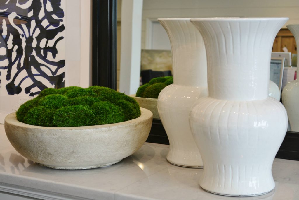 ... Other Accessories On A Coffee Table For An Earthy Aesthetic. The Sturdy  Bowls Feature The Same Preserved Moss As The Other Centerpieces Featured  Today.