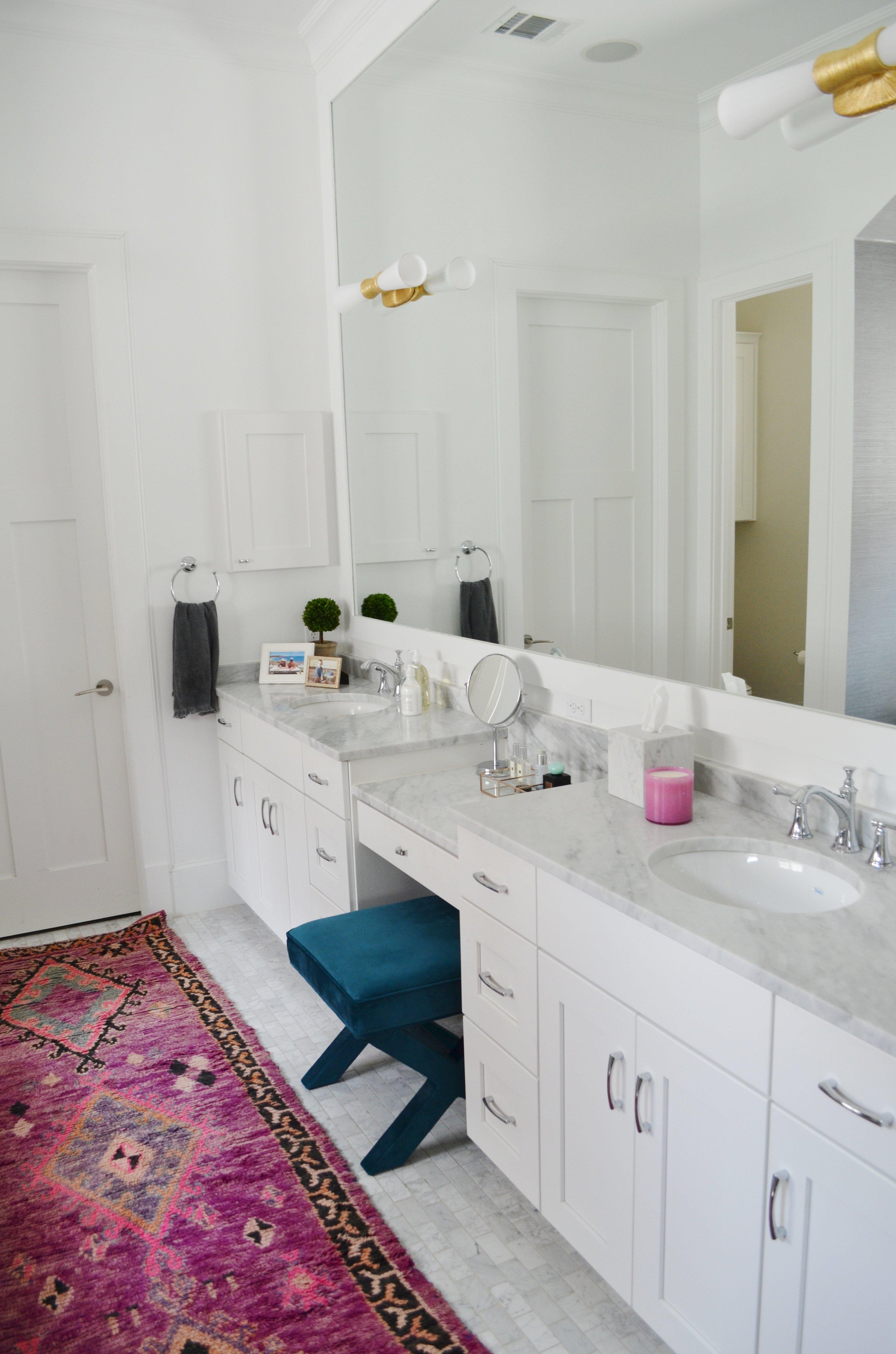 Before & After: Master Bath Refresh - Heather Scott Home & Design