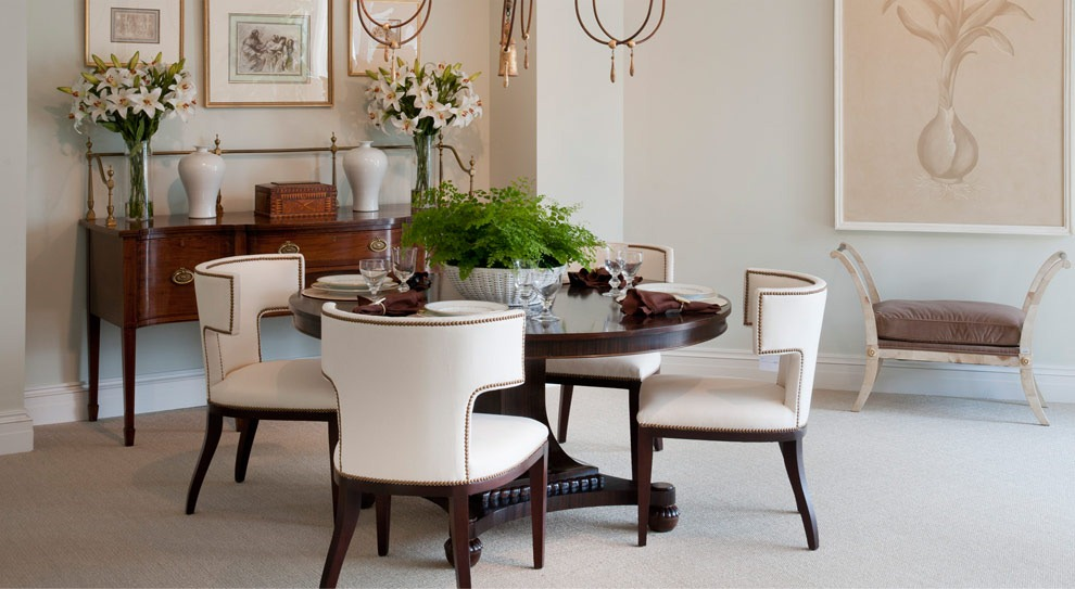 Dining Room Chairs Mr Price Home what's new wednesday: mr. & mrs. howard for sherrill furniture