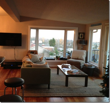 Family room before, Seattle