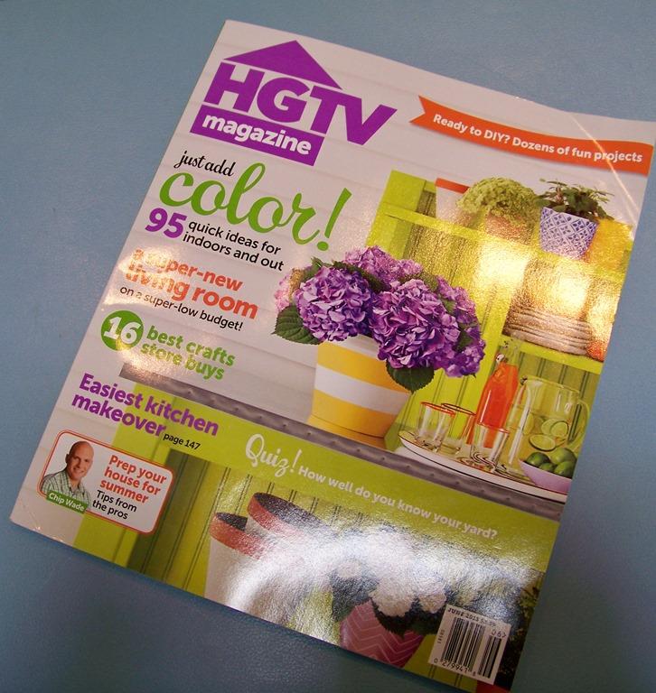 HGTV Magazine Featuring Heather Scott Home & Design