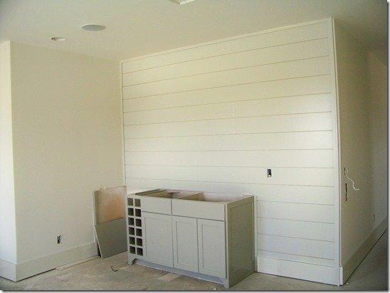 Media room wall