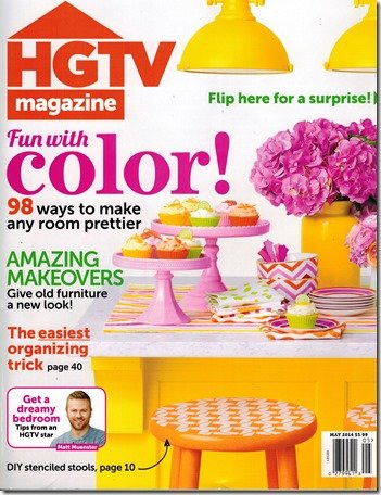 HGTV cover, May