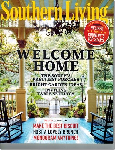 southern living cover, may