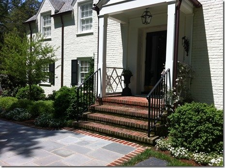 bluestone pavers to traditional brick