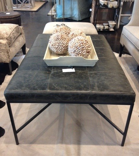 Completely new What's New Wednesday: Leather Cocktail Ottoman - Heather Scott  CT33