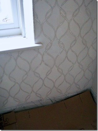 close up on wall tile